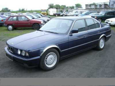 lemy blatniku BMW 5 E34