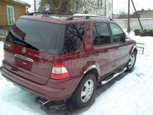 lemy blatniku Mercedes Benz ML 1998-2005