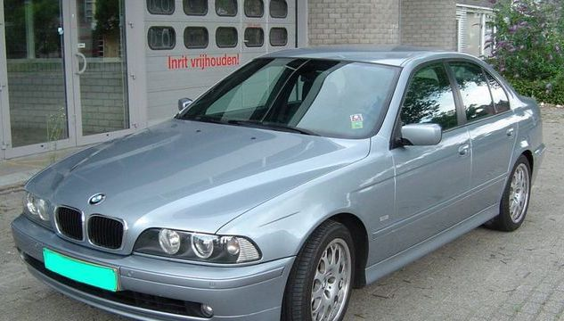 lemy blatniku BMW 5 E39