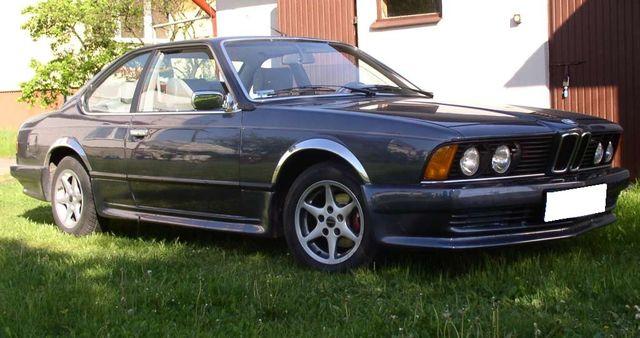 lemy blatniku BMW 6 E24