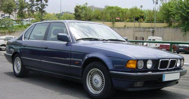 lemy blatniku BMW 7 E32