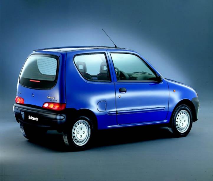 lemy blatniku Fiat Seicento