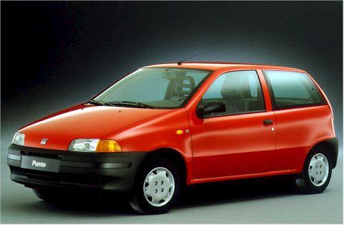 lemy blatniku Fiat Punto 1993-1999