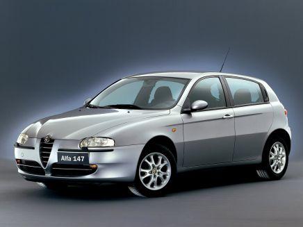 lemy blatníku Alfa Romeo 147