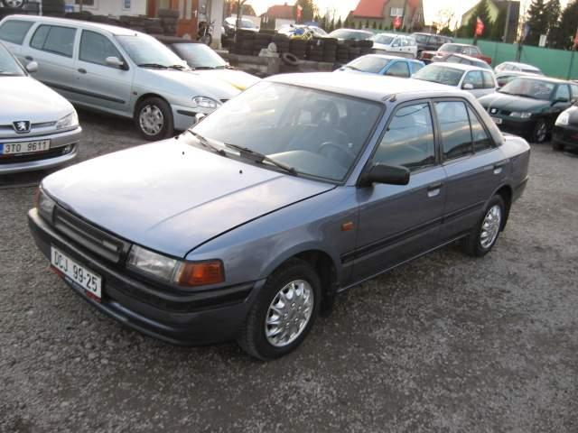 lemy blatniku Mazda 323 1989-1994