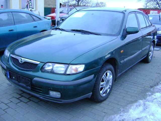 lemy blatniku Mazda 626 1997-2002