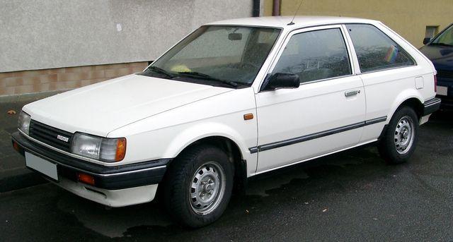 lemy blatniku Mazda 323 BF