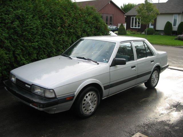 lemy blatniku Mazda 626 1983-1987