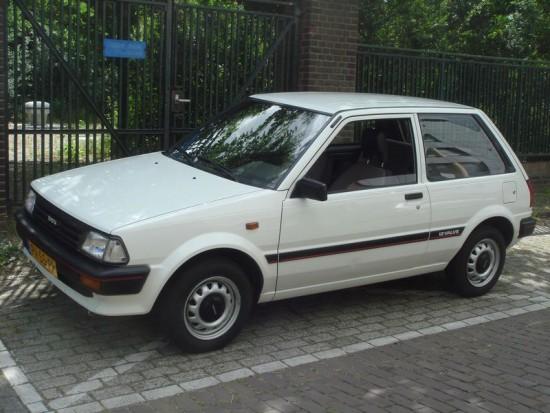 lemy blatniku Toyota Starlet 1978-1989