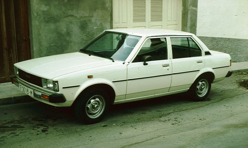 lemy blatniku Toyota Corolla 1979-1982