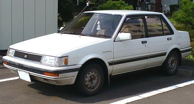 lemy blatniku Toyota Corolla 1982-1987