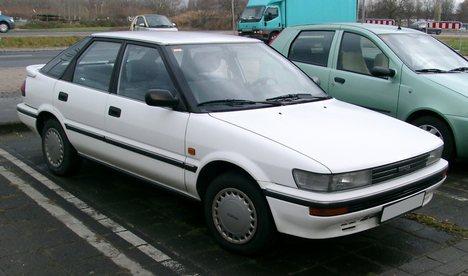 lemy blatniku Toyota Corolla 1987-1992