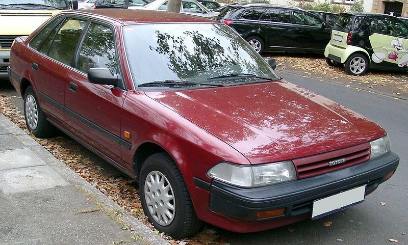lemy blatniku Toyota Carina 1987-1992