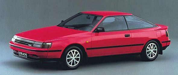 lemy blatniku Toyota Celica 1985-1989