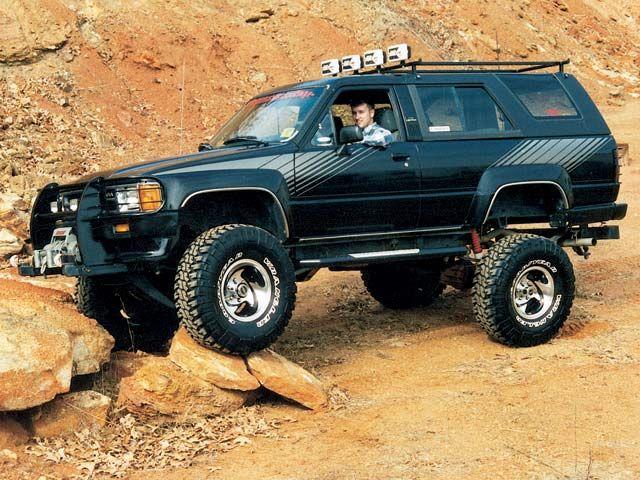 lemy blatniku Toyota 4 Runner 1984-1989