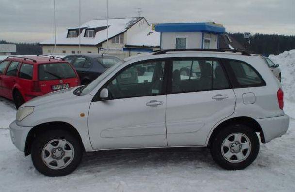 lemy blatniku Toyota RAV 4 2000-2005