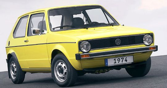 lemy blatniku VW Golf I 1974-1983