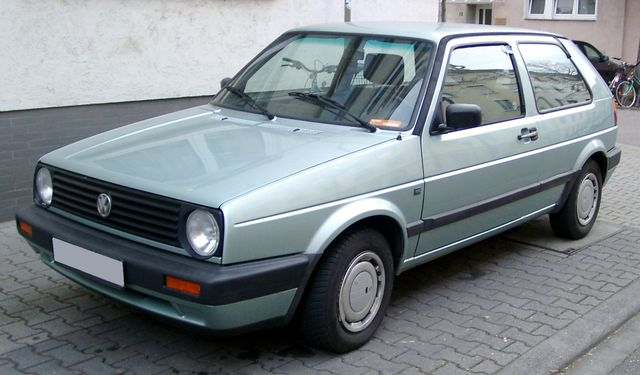 lemy blatniku VW Golf II 1983-1992