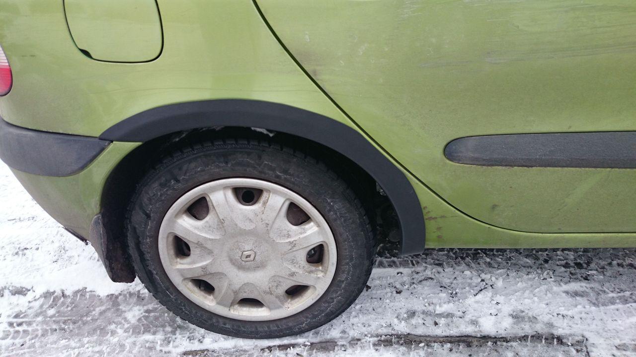 Plastové zadní lemy blatníků Renault Mégane SCENIC 95-03