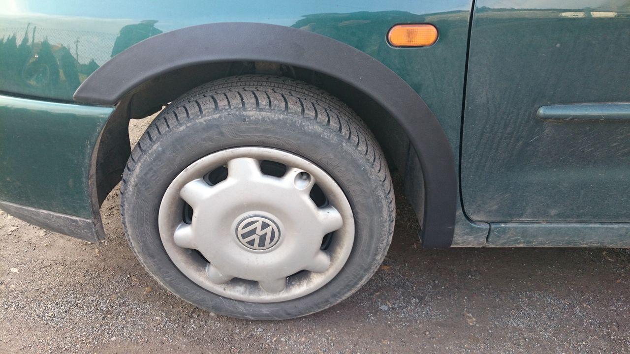 Plastové lemy blatníku VW Polo Classic Combi 1994-2002